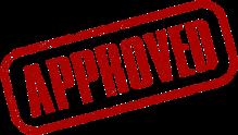 Approval for partner certification training program