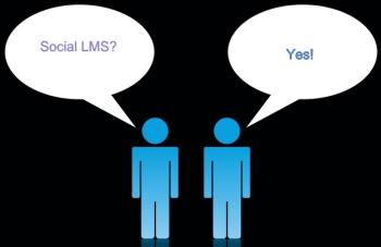 Social LMS conversation