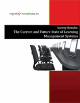 Cover - Expertus Survey Report - The Current & Future State of the Learning Management System