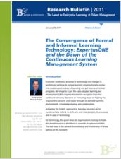Bersin Report - ExpertusONE LMS and the Dawn of Continuous Learning