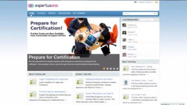 ExpertusONE Social learning Gamification brochure