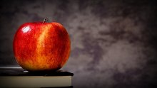 Apple from a learning management system user