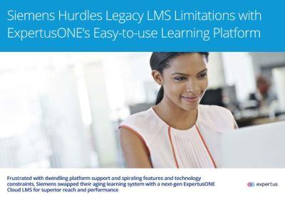 Siemens ExpertusONE LMS Case Study Cover
