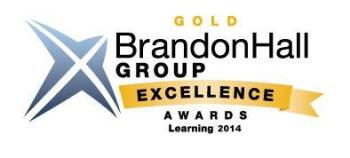 Brandon Hall Learning Technology Gold Excellence Award goes to Siemens Building Technology for skills-based competency training