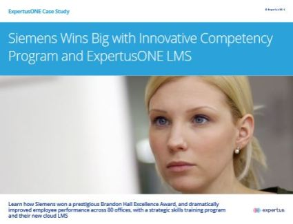 Siemens Wins Big with ExpertusONE LMS - Case Study