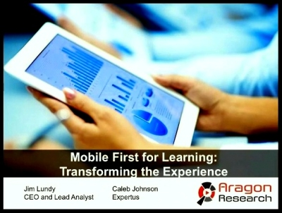Mobile First Learning Webinar with Jim Lundy and Caleb Johnson