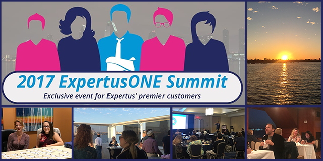 ExpertusONE LMS Customer Summit Collage