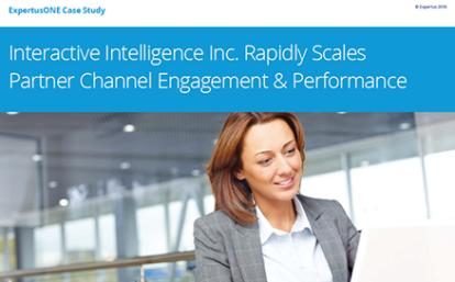 ExpertusONE Case Study: Scale Partner Channel Engagement