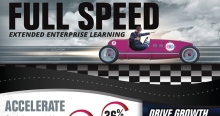 Infographic: Full Speed! Extended Enterprise Learning