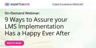 Assure LMS Implementation Success Webinar