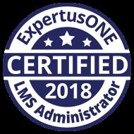 ExpertusONE Certified LMS Admin 2018